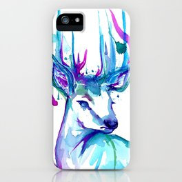 the f-ing deer iPhone Case