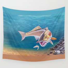 Fish On! Wall Tapestry