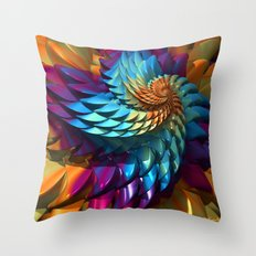 Dragon Skin Throw Pillow