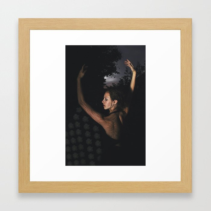 digital cicatrization   2 Framed Art Print