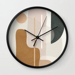 Abstract Minimal Art 23 Wall Clock