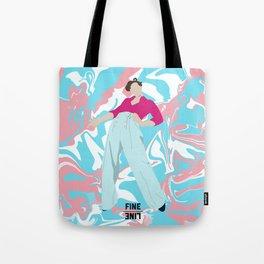 Fine Line Harry Styles fanmade art Tote Bag