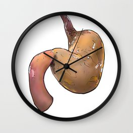 Stomach Wall Clock