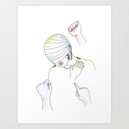 Endurance (Doubt) Art Print