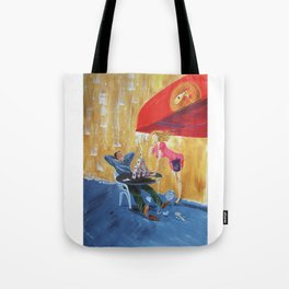 Drink and play Tote Bag