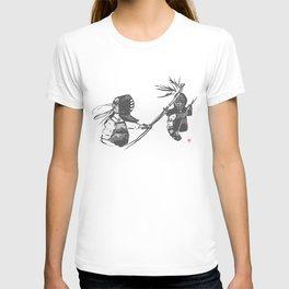 Naginata Sumi-E by Takemi T-shirt