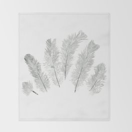 Light as a Feather Throw Blanket