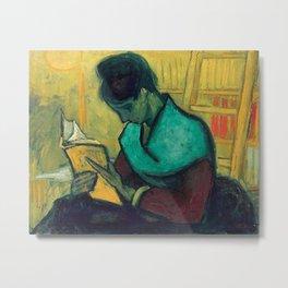 Vincent Van Gogh The Novel Reader 1888 Metal Print