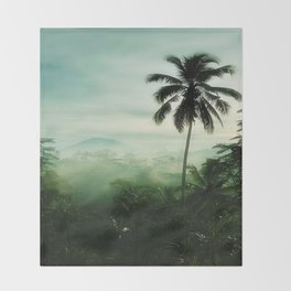TROPICAL RAINFOREST Throw Blanket