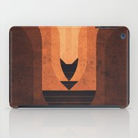 titan iPad Cases featuring Titan - Lakes of Titan by Fabled Creative