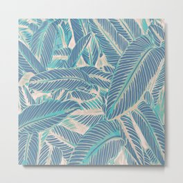 Tropic Pastel Metal Print