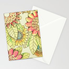 Fun Funky Flowers  Stationery Cards