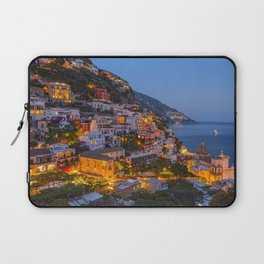 A Serene View of Amalfi Coast in Italy Laptop Sleeve