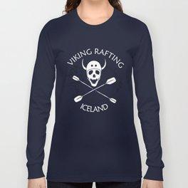 Viking Rafting Iceland Long Sleeve T-shirt