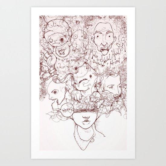 Drew Art Print