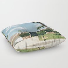 Memory form California Floor Pillow
