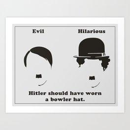 Evil/Hilarious Art Print