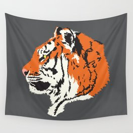 Tiger Profile Wall Tapestry