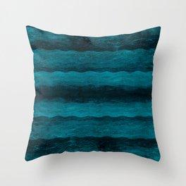Vintage Blau Throw Pillow