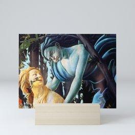 "Sandro Botticelli ""Primavera"" Chloris and Zephyrus Mini Art Print"