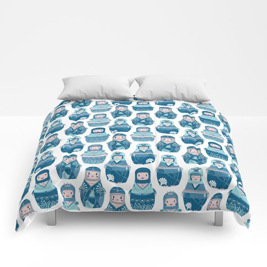 Matrioshkas Pattern Comforters