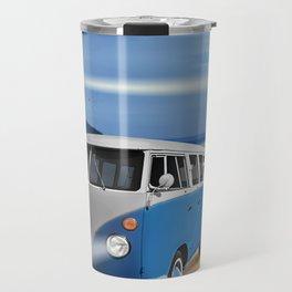 Blue ... beach ... bulli Travel Mug