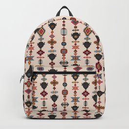 American Prairie Ethnic Tribal Seamless Pattern Backpack