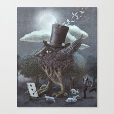 The Magician's Hat  Canvas Print
