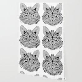 Foxy Fox Dark Wallpaper