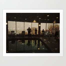 Seeing Stars in the City Art Print