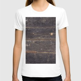 Vintage Black Wood T-shirt