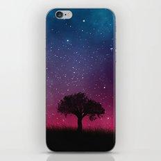 Tree Space Galaxy Cosmos iPhone & iPod Skin