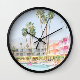palm springs Wall Clock