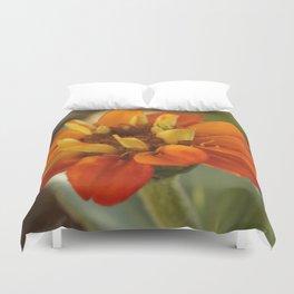 Marigold Flower Duvet Cover