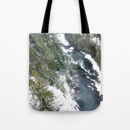 Cold stream Tote Bag