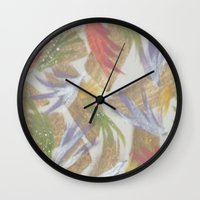 easter Wall Clocks featuring Easter by Kat Dermane