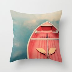 Floating On A Cloud Throw Pillow