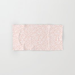 The Cut Outs | Pastel Pink Hand & Bath Towel