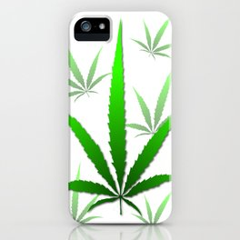 leaf of grass iPhone Case