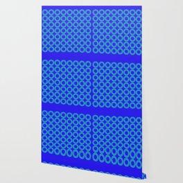 High Blue Dazzle Wallpaper