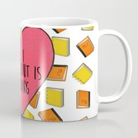 reading Mugs featuring reading by Synne Vestvik