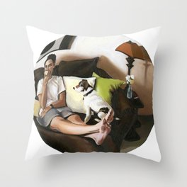 3:58 PM Throw Pillow