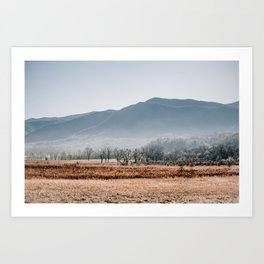 Peace in the Valley of Cades Cove Art Print