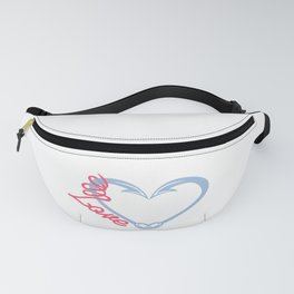 Fishing Couples Love Angling Fishermen Fish Gift Fanny Pack