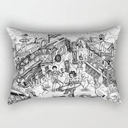It's Going Down on Shakedown Street Rectangular Pillow