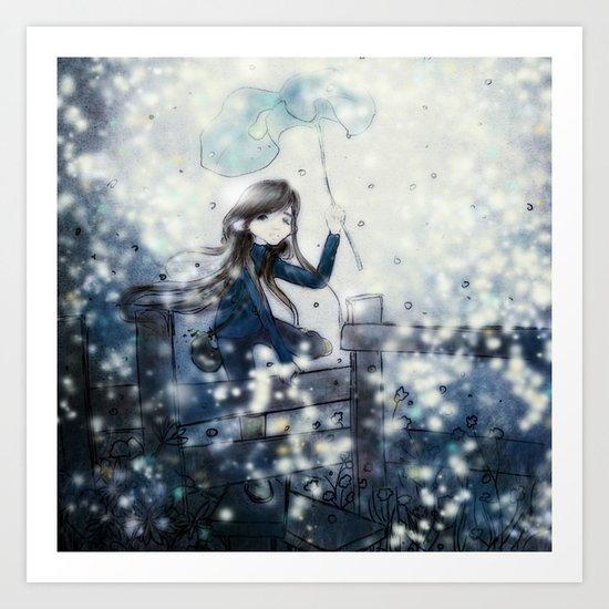 Hotaru Art Print