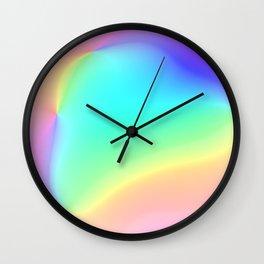 Prismatic Rainbow Design! Wall Clock