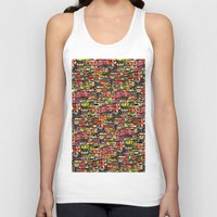 brazil Tank Tops featuring Brazil by India Panzid