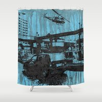 india Shower Curtains featuring India 1 by Anand Brai