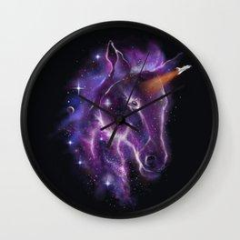 galaxy of the unicorn  Wall Clock